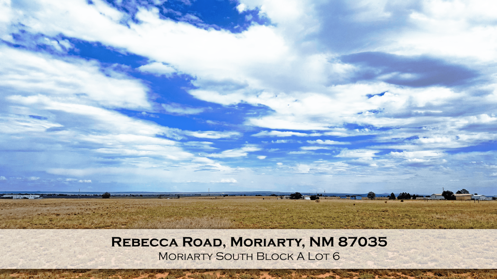 Rebecca Road, Moriarty, NM 87035
